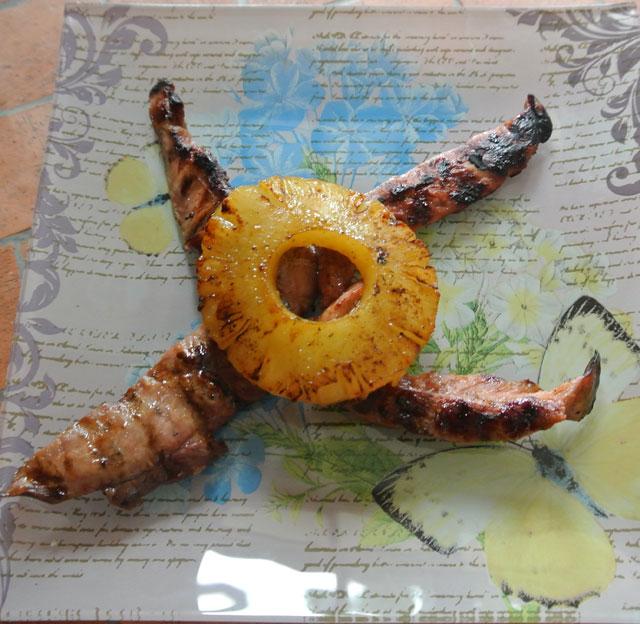 aiguillettes canard a l orange