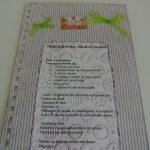 cahier de recettes en scrap