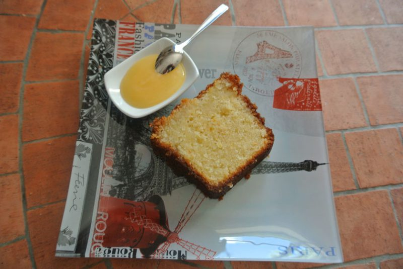 cake citron lemon curd