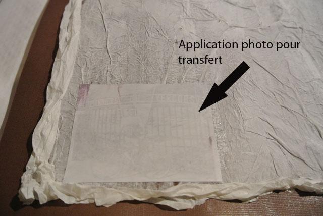 page scrap transfert photo