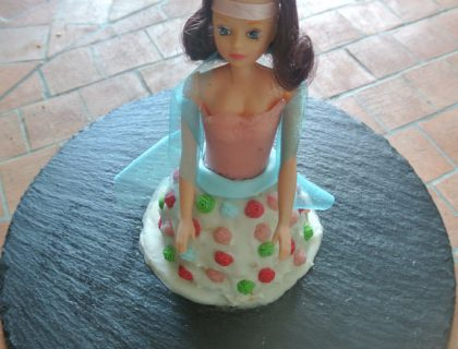 poupee en robe de princesse