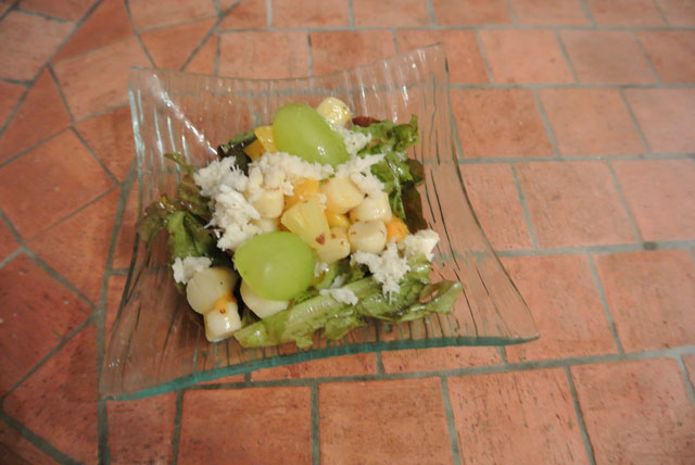salade noix St Jacques