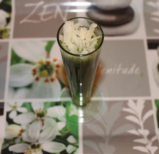 veloute persil parmesan