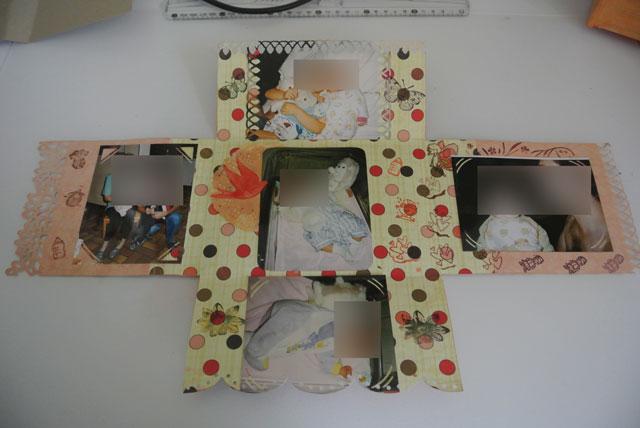 mini album facon carte