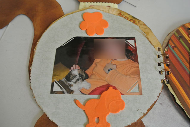 album scrap le chat