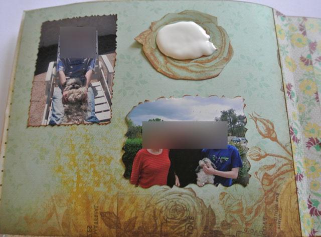 album photo scrap