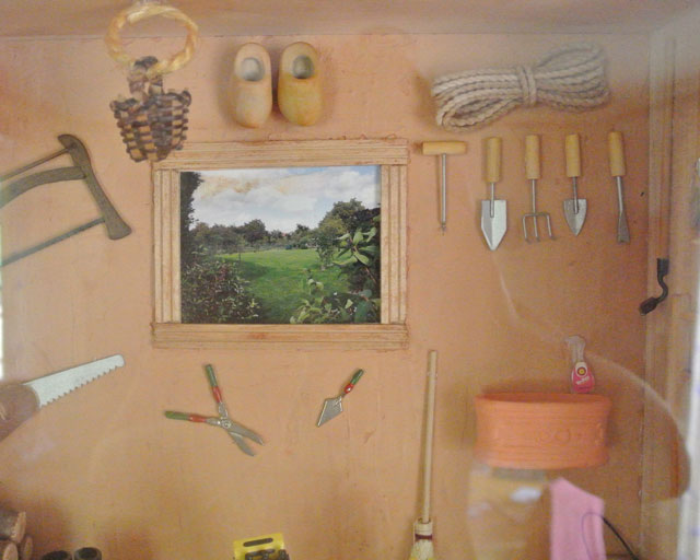 cabane du jardinier miniature