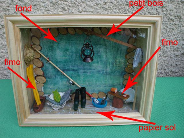 cabane du p cheur miniature le blog de la m re pierre. Black Bedroom Furniture Sets. Home Design Ideas