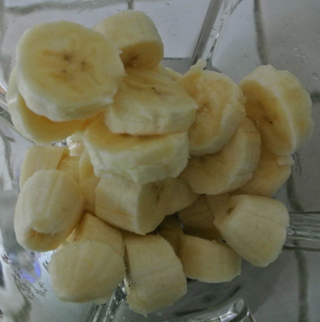 glace bananes