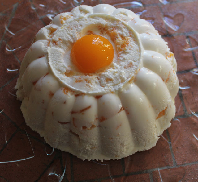 entremet fromage blanc abricots