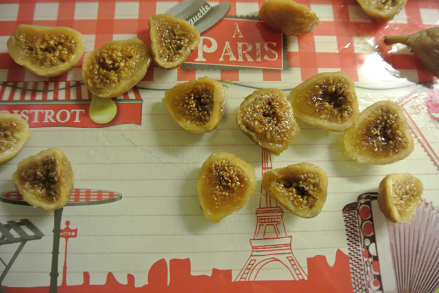 figues au fromage blanc