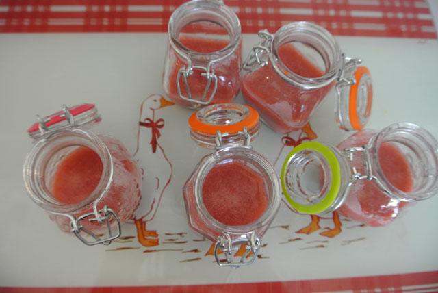 mousse fraises mangues