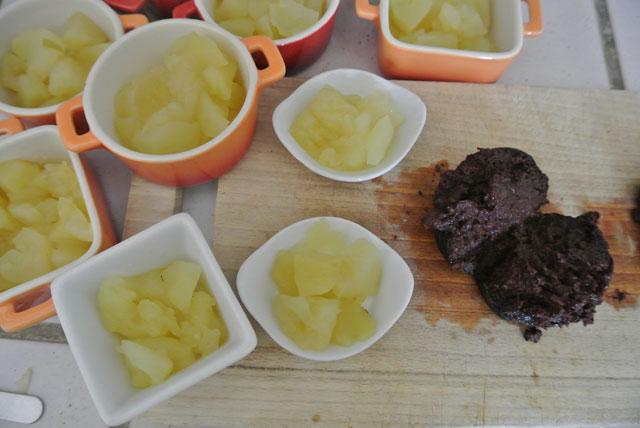 cocotte pommes granny boudin antillais