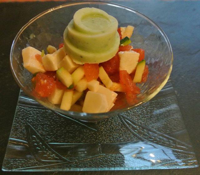 salade fraiche chevre