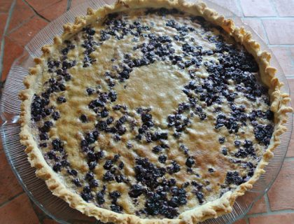 tarte aux myrtilles mascarpone