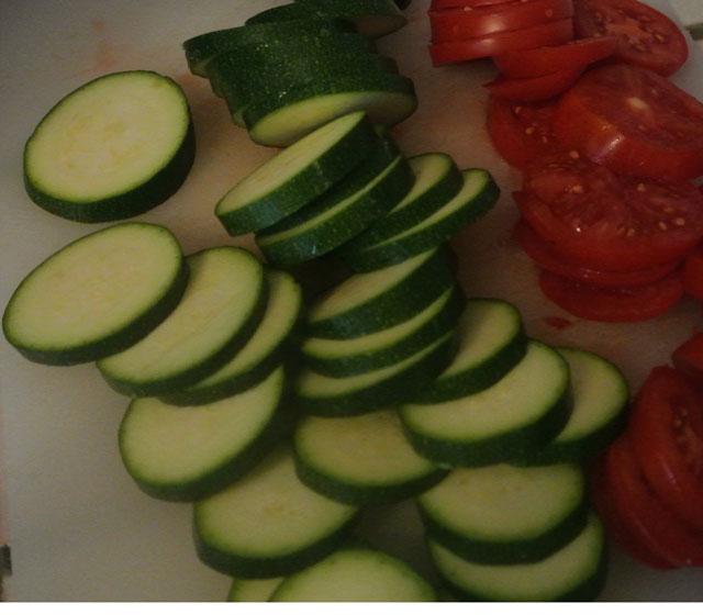 tarte tomates courgettes mozzarella