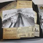 album scrap Paris en noir et blanc page 9