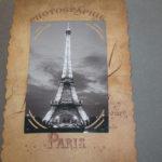 album scrap Paris en noir et blanc page 17