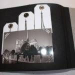 album scrap Paris en noir et blanc page 3