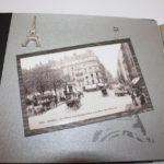album scrap Paris en noir et blanc page 4
