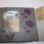 album scrap Paris en noir et blanc page 6