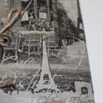 album scrap Paris en noir et blanc