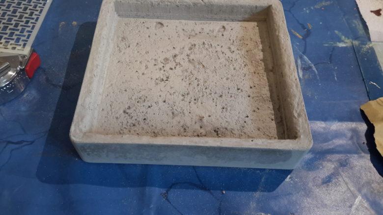 vide poche en beton