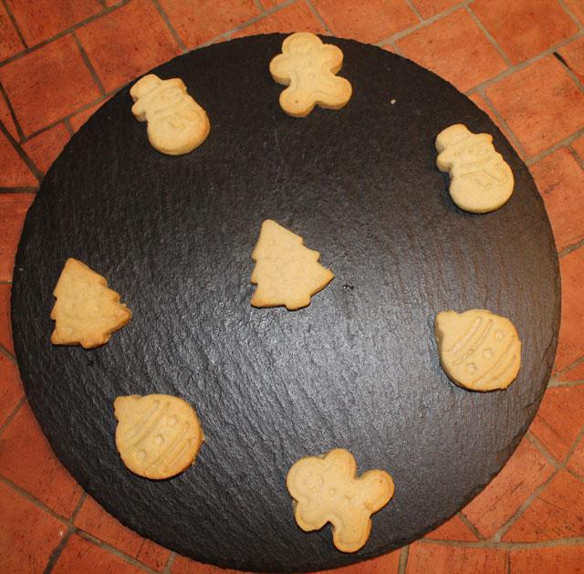 Sablés de Noël à la poudre d'amande