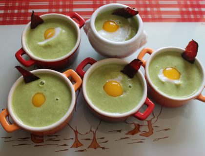 veloute petits pois