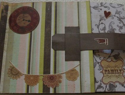 album photo facon scrapbooking