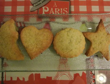 biscuit citron pistaches