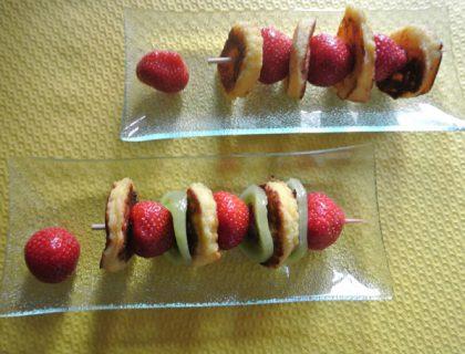 brioche perdue aux fruits