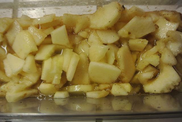 Compotée de poires au coteau du Layon