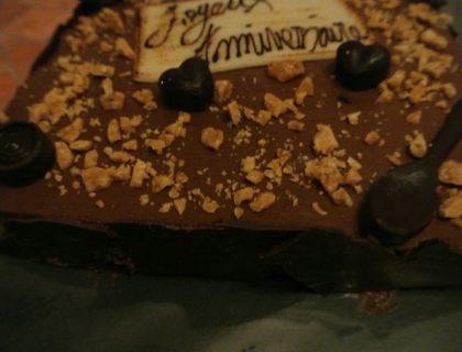 gateau chocolat poires