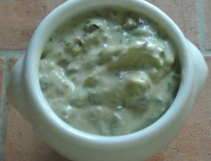 mayonnaise capres cornichons