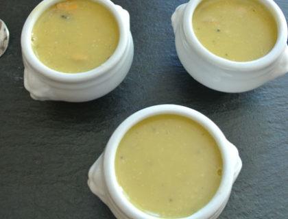 soupe de potiron aux moules