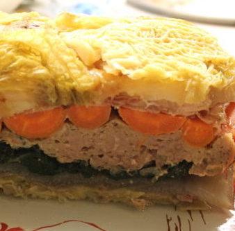 pain de legumes a la viande