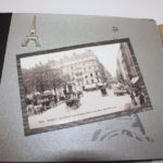 album scrap Paris en noir et blanc page 4