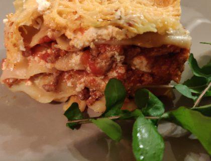 lasagnes bolognaise ricotta