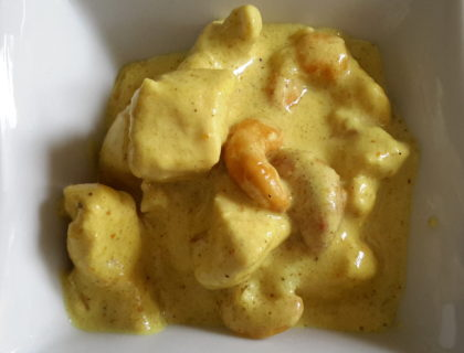poulet curry noix cajou