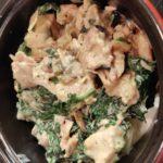 Gratin pommes de terre, poulet au bleu de Bresse
