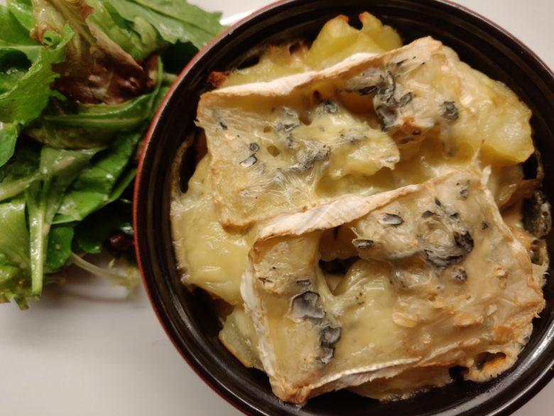 gratin de pommes de terre poulet bleu bresse