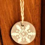 bijoux de porte de noel