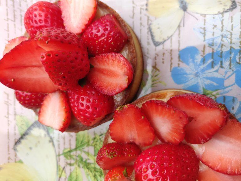 tarte lemon curd fraises